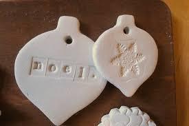 ornament to make air clay