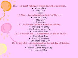 holidays in great britain ppt