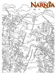Coloriage Le monde de Narnia   imprimer gratuitement