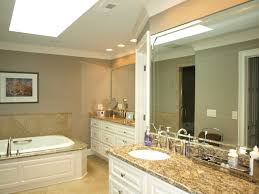 master bath features off set his and her vanities a big whirlpool
