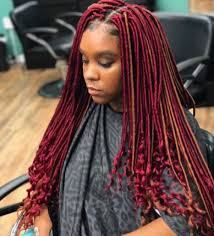 red cornrow braided hair 40 crochet braids hairstyles 2017 herinterest com