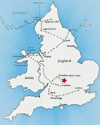 Avon Colorado Map by Map Of England Stratford Upon Avon London Map