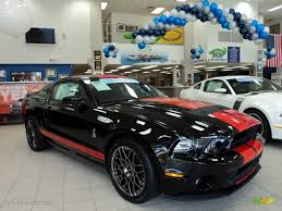 Black Mustang Shelby 2013 Black Ford Mustang Shelby Gt500 Svt Performance Package Coupe