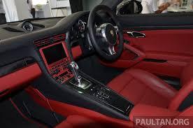 Porsche 911 Turbo S Interior Driven Porsche 911 Turbo S The Mega 991 On Track