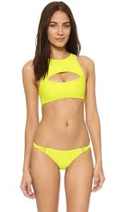 German Flag Bathing Suit Mikoh Marrakesh Crop Top Shopbop