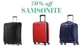 big samsonite luggage deals up to 70 southern savers
