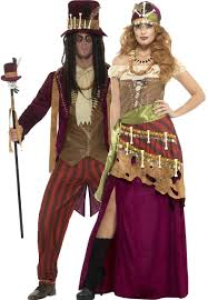high priest costume couples voodoo priests fancy dress costumes fancy me limited