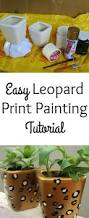 easy leopard print painting tutorial the spring mount 6 pack