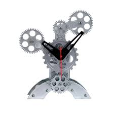 maple u0027s clocks fascinating gear wall and desk clocks touch of