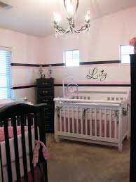 Black And White And Pink Bedroom Black Pink U0026 White Twin Nursery Design Dazzle