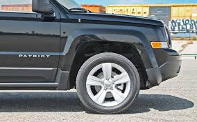 tires on stock jeep patriot 2013 jeep patriot latitude 4x4 test truck trend