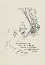 winnie the pooh etsy winnie the pooh quotes classic vintage style poster print based original drawing shepard