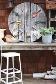 Garden Wall Clocks by My Sweet Savannah Garden Pallet Wall Clock Thrifty Thursday Diy