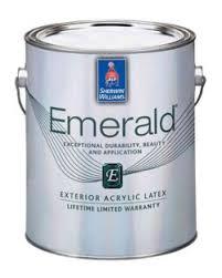 emerald exterior acrylic latex paint sherwin williams