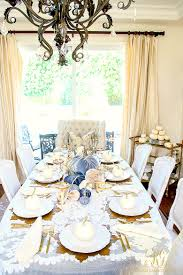 glam fall dining room tour velvet pumpkin table randi garrett glam fall dining room velvet pumpkin table