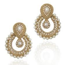 ear ring images girl pink pearl dangle drop earrings for women