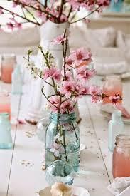 diy cherry blossom centerpiece julia seiler photography blog