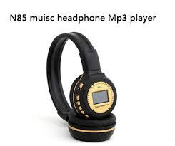 headband mp3 n85 digital wireless headband headset headphone fm sd stero