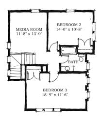 house plans with media room farmhouse style house plan 3 beds 2 50 baths 2038 sq ft plan 464 7
