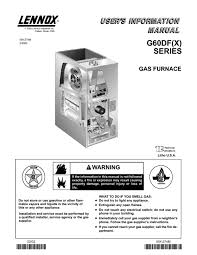 furnace users guides from