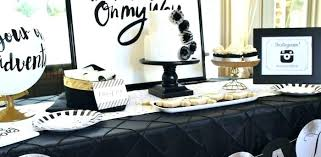 graduation table centerpieces ideas black and gold table decorations silver and gold table decorations