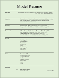 printable resume examples model resume templates for ms word free example format download printable model resume template