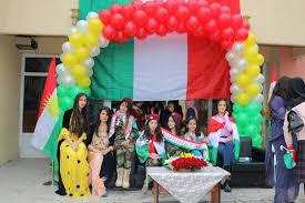 Kurdish Flag Celebrate Kurdistan Flag Day