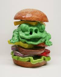 gilhooly david u2013 giant frog burger efg private collections