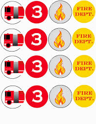 firefighter cupcake toppers moments that take my breath away truck birthday party free