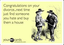 congratulations on your divorce card congratulations on your divorce next time just find someone you