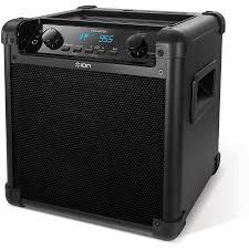 ion bluetooth speaker with lights ion audio tailgater bluetooth speaker walmart com