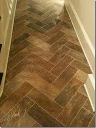 tile in a herringbone pattern this would gorgeously blend