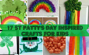 17 st patty u0027s day inspired crafts for kids glued to my crafts