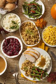 thanksgiving table with turkey have a healthy side with your turkey 4 healthy thanksgiving side