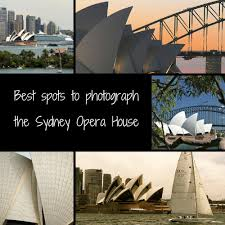 photographing the sydney opera house
