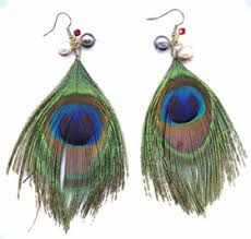 how to make feather earrings how to make feather earrings fashioninmywords