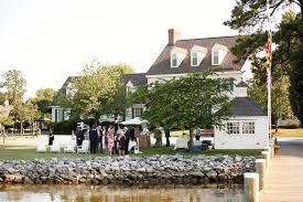 waterfront wedding venues in md intimate waterfront wedding reception on maryland s eastern shore