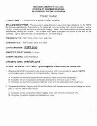 respiratory therapist resume exles sle resume objectives for respiratory therapist best of aba