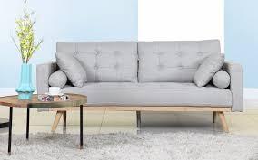 Grey Modern Sofa Modern 2 Tone Sofa Bed Sofamania