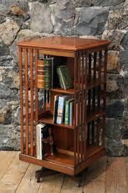 antique revolving bookcase oak revolving bookcase antique mahogany