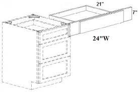 bathroom vanity knee drawer vkd24 size 24