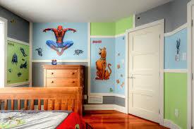peinture chambre gar輟n 5 ans fille avec meuble adolescent colorees coucher decorer ma peinture