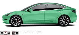 nissan leaf vs tesla model 3 tesla model 3 in any color you want interactive website