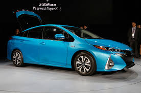 styling size up 2017 toyota prius prime vs 2016 toyota prius