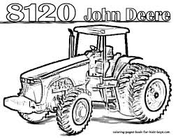john deere coloring pages coloring page