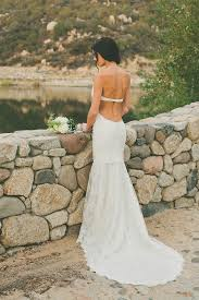 backless wedding dress picture of chic backless wedding dress collection by may