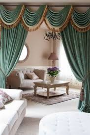Valances And Curtains Green Chenille Swag Valance Curtain Sets Double Sided Chenille 90