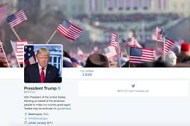 American Flag Header President Trump U0027s New Potus Twitter Account Uses An Image From
