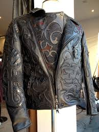 motorcycle waistcoat logan riese leather obsessive if i do say high end fashion