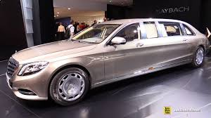 mercedes maybach 2016 2016 mercedes maybach s600 pullman limo exterior walkaround